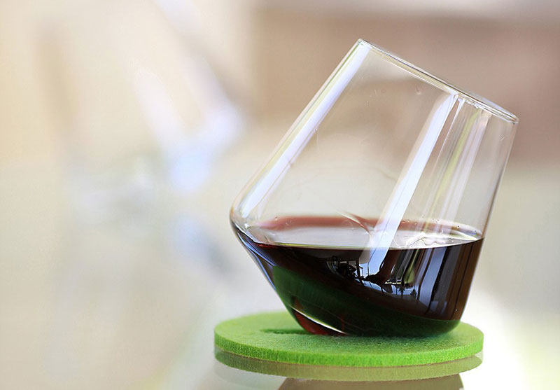 Aerating Wine Glasses by Sempli Cupa-Vino