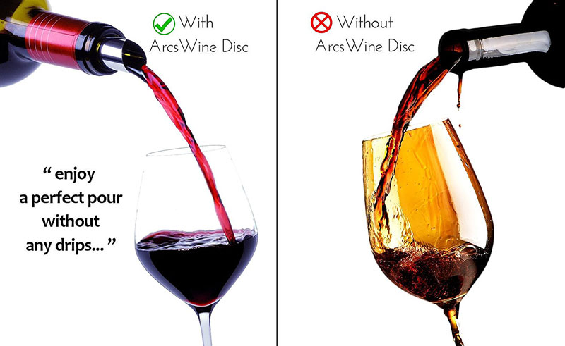 Drip-Proof Wine Pouring Spouts
