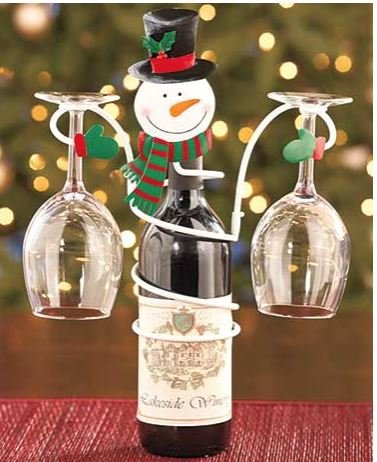 holiday-snowman-wine-glass-holder