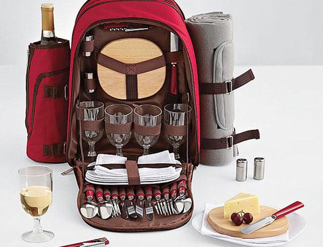 Kovot Wine Travel Bag and Picnic Set