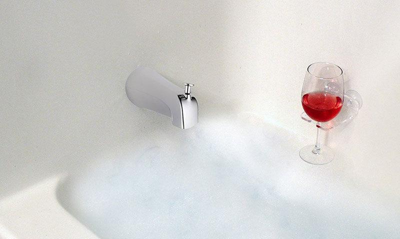 SipCaddy Bath & Shower Wine Holder