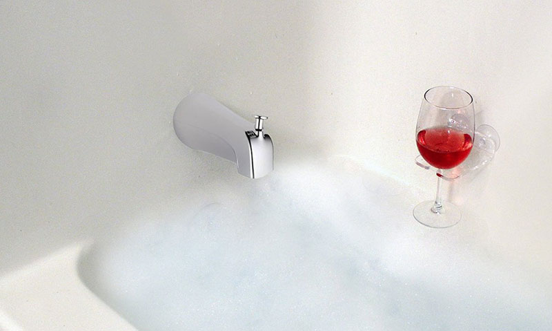 SipCaddy Bath & Shower Wine Holder