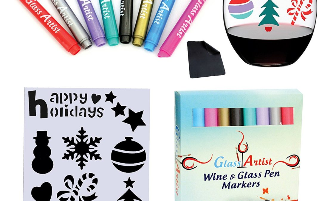 Glass Artist – Wine Glass Pen Markers