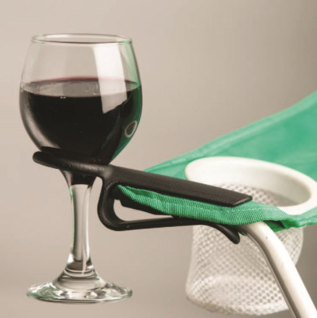 The Wine Hook – Clip-On Glass Holder